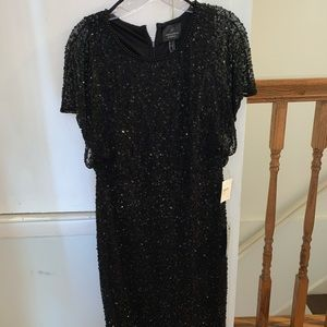 Brand new with tags! Gorgeous black sequin dress
